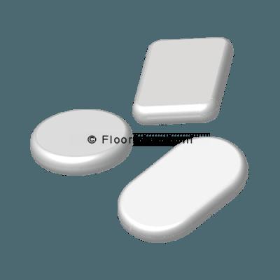 Losse teflonschijfjes (voor doppen met vervangbaar teflon)