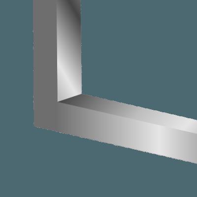 Vierkante slede of glijbuis