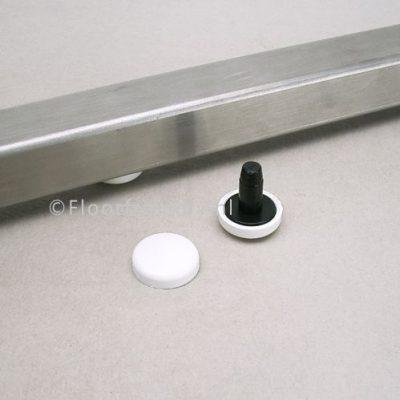 Stoelglijder HRI-ST 6 voor platte buisframes - Floorfriendly.nl